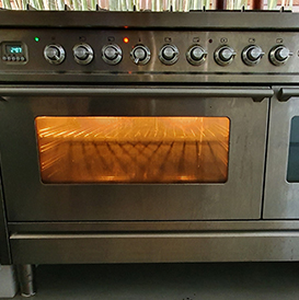 ILVE Free Standing Cooker with Double Oven Repair