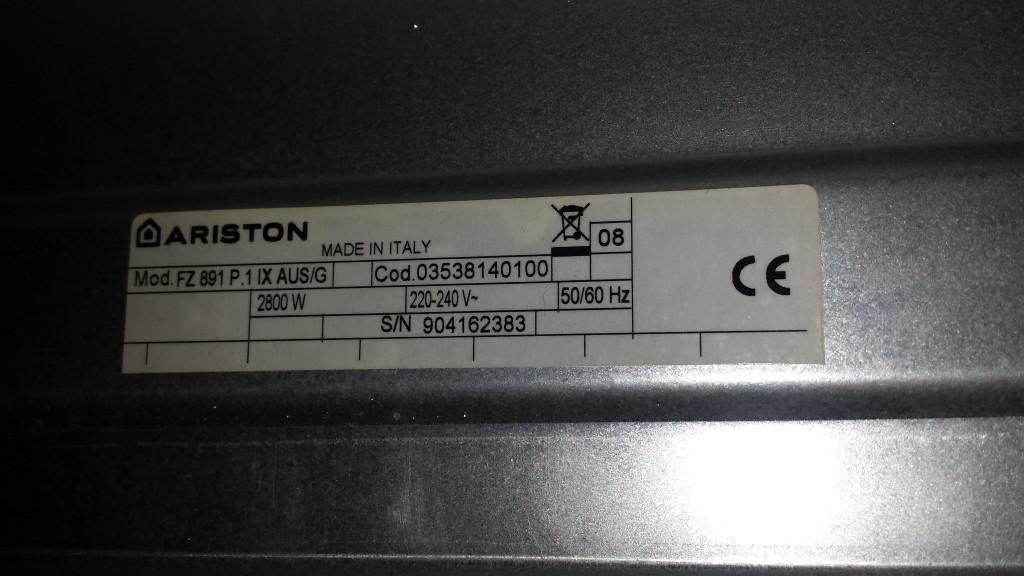Ariston Oven Repair Lindfield
