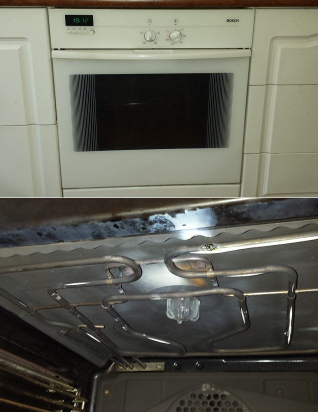 Bosch oven Northmean top element repaired